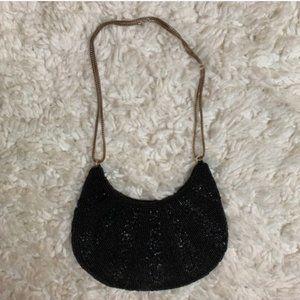Vintage Walbaeg Beaded Purse Evening Small Bag